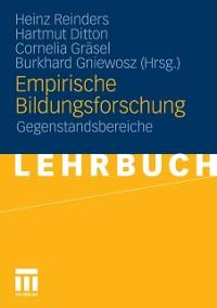 Cover Empirische Bildungsforschung