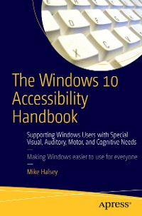 Cover The Windows 10 Accessibility Handbook