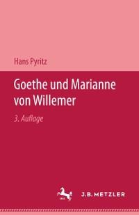 Cover Goethe und Marianne von Willemer