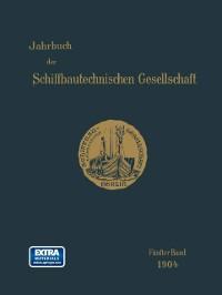 Cover Jahrbuch der Schiffbautechnischen Gesellschaft