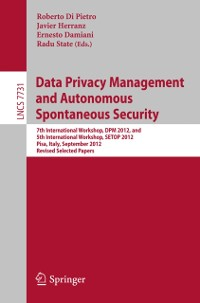 Cover Data Privacy Management and Autonomous Spontaneous Security
