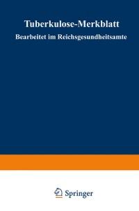 Cover Tuberkulose-Merkblatt