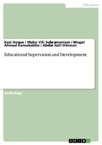 Cover Educational Supervision and Development