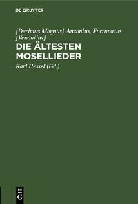 Cover Die ältesten Mosellieder