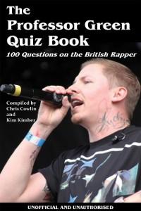 Cover Professor Green Quiz Book