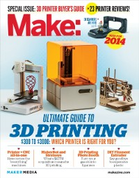 Cover Make: Ultimate Guide to 3D Printing 2014