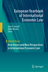 Cover New Voices and New Perspectives in International Economic Law
