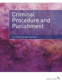 Cover Criminal Procedure and Punishment