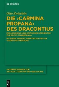 Cover Die &quote;Carmina profana&quote; des Dracontius