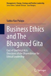Cover Business Ethics and The Bhagavad Gita
