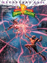 Cover Mighty Morphin Power Rangers, Issue 45