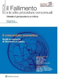 Cover Il concordato preventivo