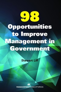 Cover 98 Opportunities to Improve Management in Government