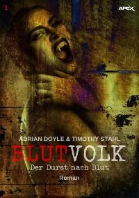 Cover BLUTVOLK, Band 1: DER DURST NACH BLUT