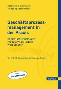 Cover Geschäftsprozessmanagement in der Praxis