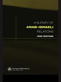 Cover Survey of Arab-Israeli Relations