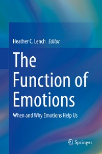Cover The Function of Emotions