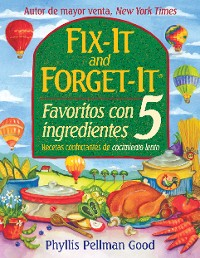 Cover Fix-it and Forget-it Favoritos Con 5 Ingredientes