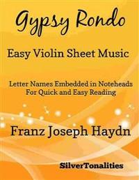 Cover Gypsy Rondo Easy Violin Sheet Music