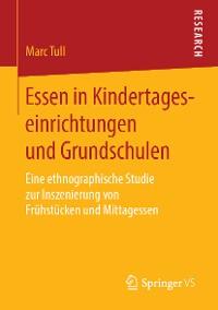 Cover Essen in Kindertageseinrichtungen und Grundschulen