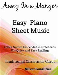 Cover Away In a Manger Easy Piano Sheet Music