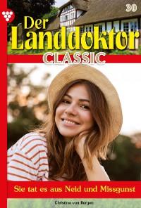 Cover Der Landdoktor Classic 30 – Arztroman