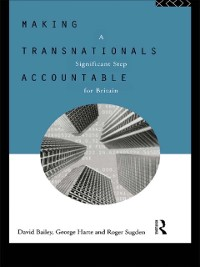 Cover Making Transnationals Accountable
