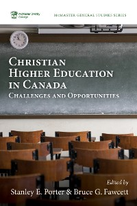 Cover Christian Higher Education in Canada