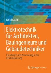 Cover Elektrotechnik für Architekten, Bauingenieure und Gebäudetechniker