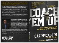Cover Coach 'Em Up
