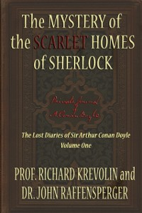 Cover Mystery of the Scarlet Homes Of Sherlock