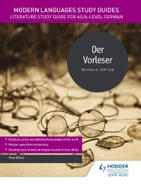 Cover Modern Languages Study Guides: Der Vorleser