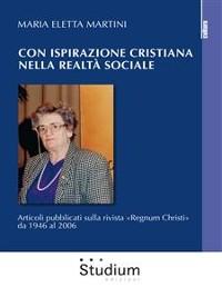Cover Con ispirazione cristiana nella realtà sociale