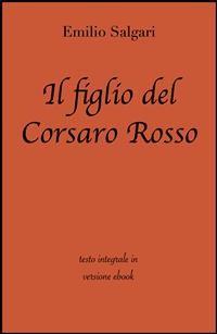 Cover Il figlio del corsaro rosso di Emilio Salgari in ebook