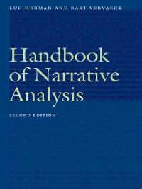 Cover Handbook of Narrative Analysis