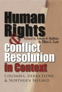 Cover Human Rights and Conflict Resolution in Context