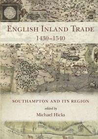 Cover English Inland Trade