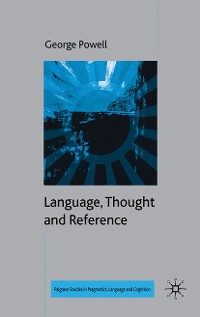 Cover Language, Thought and Reference