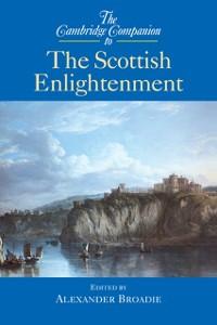 Cover Cambridge Companion to the Scottish Enlightenment
