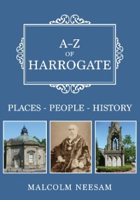 Cover A-Z of Harrogate