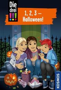 Cover Die drei !!!, 1, 2, 3 - Halloween! (drei Ausrufezeichen)