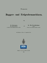 Cover Neuere Bagger- und Erdgrabemaschinen