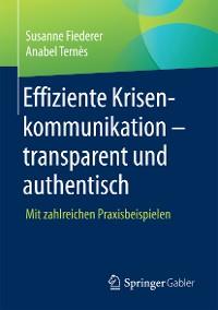 Cover Effiziente Krisenkommunikation – transparent und authentisch