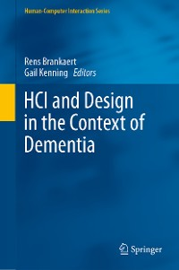 Cover HCI and Design in the Context of Dementia