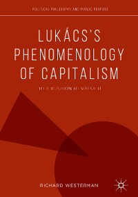 Cover Lukács's Phenomenology of Capitalism