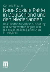 Cover Neue Soziale Pakte in Deutschland und den Niederlanden