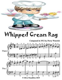 Cover Whipped Cream Rag - Easiest Piano Sheet Music Junior Edition