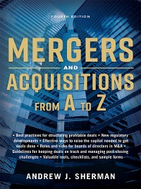 Cover Mergers and Acquisitions from a to Z