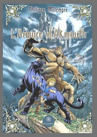 Cover L'armure d'Akmouth - Tome 1