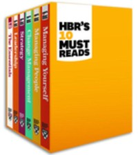 Cover HBR's 10 Must Reads Boxed Set (6 Books) (HBR's 10 Must Reads)